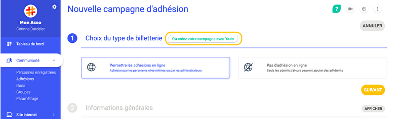 assoconnect-parametrage-campagne-adhesion