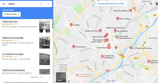 Google Maps Association Outil
