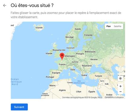 Google Maps association Carte