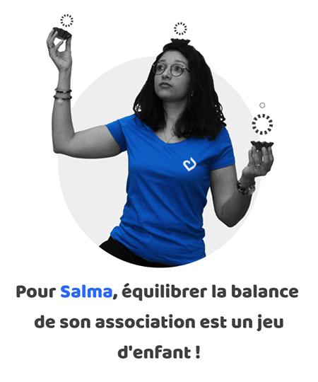 balance comptable association assoconnect équilibre salma