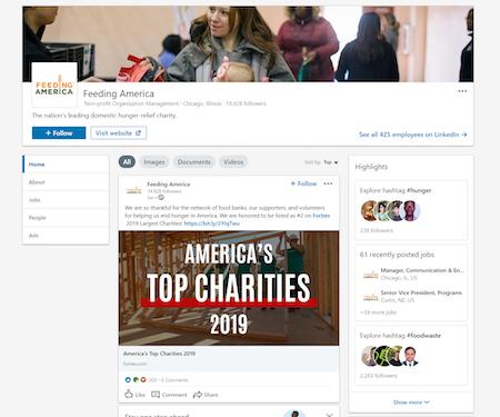 LinkedIn-for-nonprofits-Feeding-America