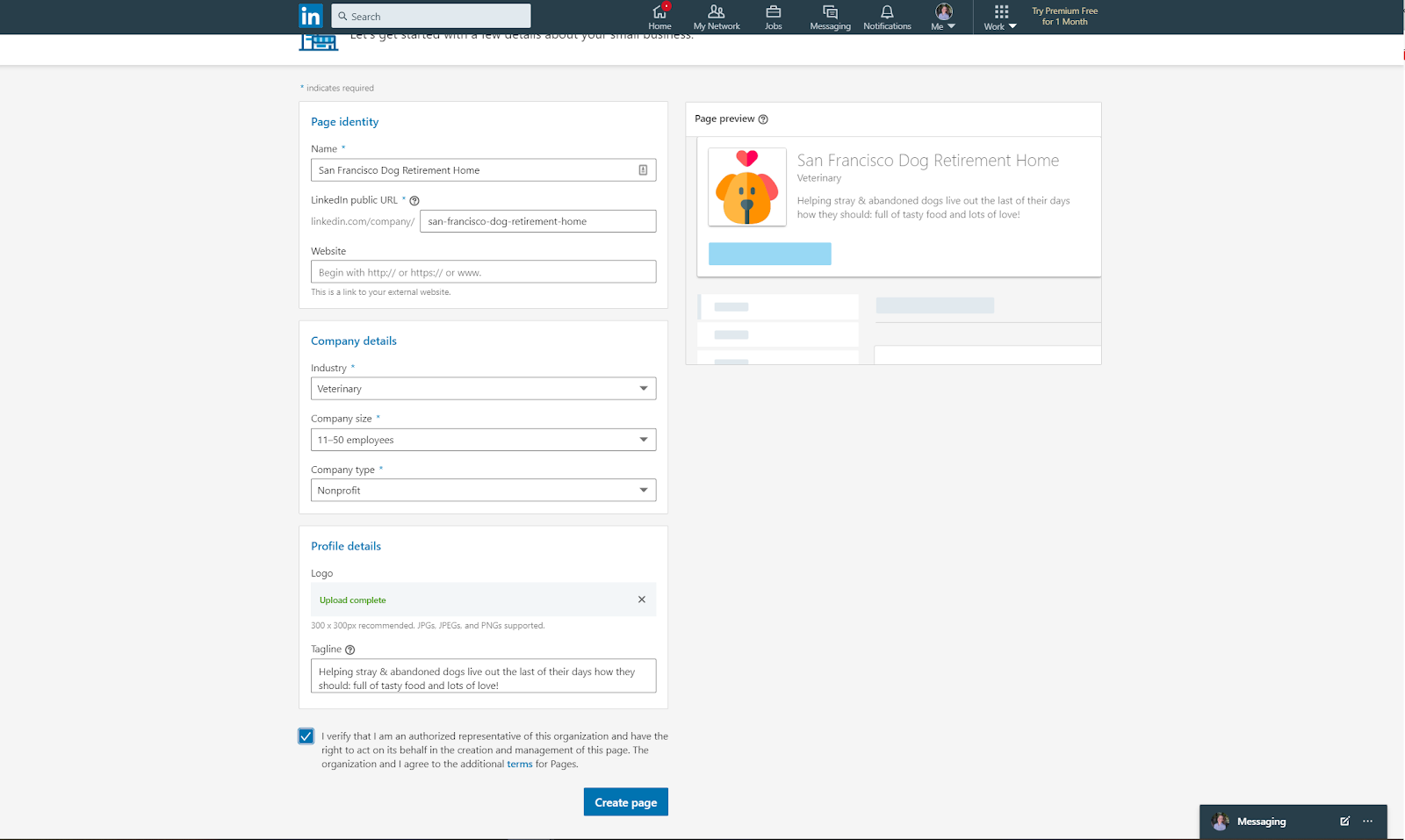 LinkedIn-for-nonprofits-page-form