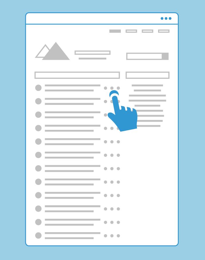 nonprofit-website-design-tips-infinite-scroll